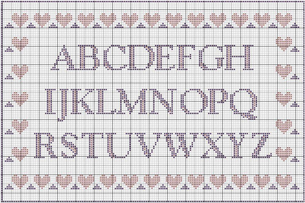 grilles lettres et chiffres
